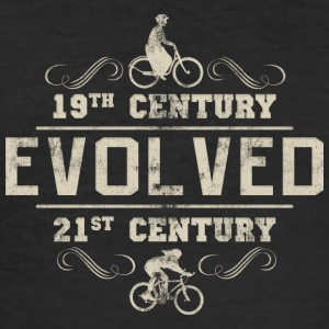 Bicycle Evolved Women's Cycling - Men's Slim Fit T-Shirt