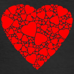 Isle full of Hearts - Men's Slim Fit T-Shirt