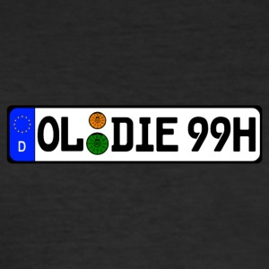 Oldies 99 historically - Men's Slim Fit T-Shirt