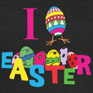 I Love Easter - Men's Slim Fit T-Shirt