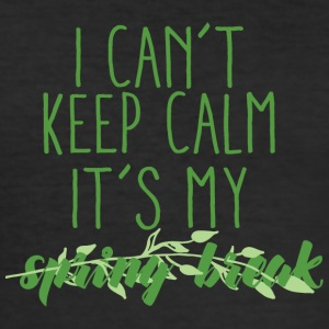 Spring Break / Spring Break: I Can not Keep Calm. det - Slim Fit T-skjorte for menn