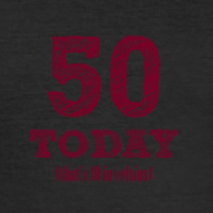 50th birthday: 50 Today (that's 10 Celsius) - Men's Slim Fit T-Shirt