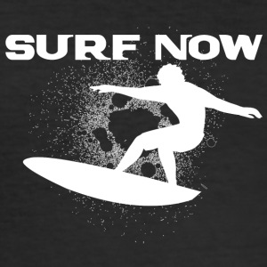 Surf nu 4 wit - slim fit T-shirt