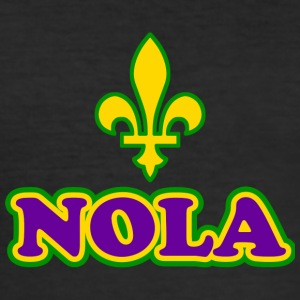 NOLA New Orleans Lousiana - Slim Fit T-shirt herr
