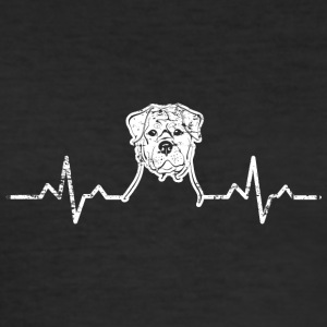 dog8 - Herre Slim Fit T-Shirt