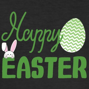 Ostern / Osterhase: Happy Easter - Männer Slim Fit T-Shirt