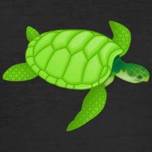 oude schildpad - slim fit T-shirt
