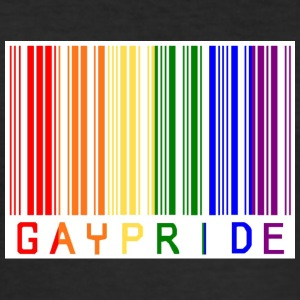 Gay pride stregkode - Herre Slim Fit T-Shirt