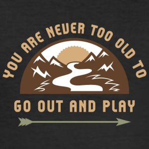 Go Out And Play - Tee shirt près du corps Homme
