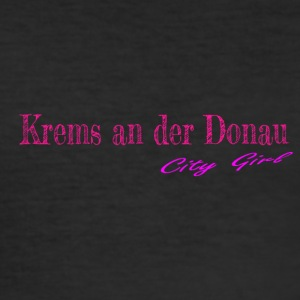 Krems at the Donau - Men's Slim Fit T-Shirt