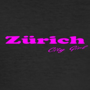 Zürich - Herre Slim Fit T-Shirt