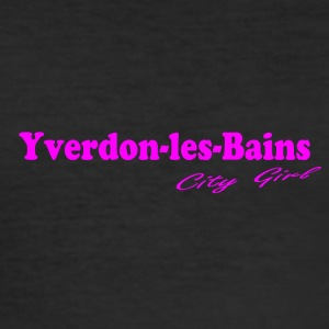 Yverdon-les-Bains - Slim Fit T-skjorte for menn