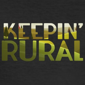 Farmer / Farmer / Farmer: Rural Keepin' - Men's Slim Fit T-Shirt