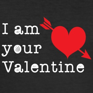 your Valentine - Men's Slim Fit T-Shirt