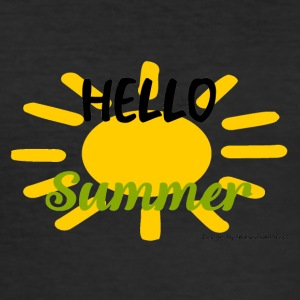 SunHelloSummer - slim fit T-shirt