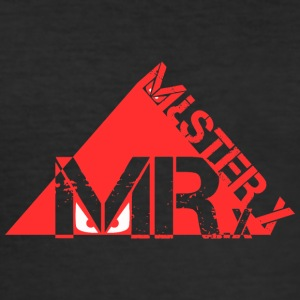 MR-X_PNG_rosso - Slim Fit T-shirt herr