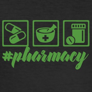 Pharmazie / Apotheker: #pharmacy - Männer Slim Fit T-Shirt