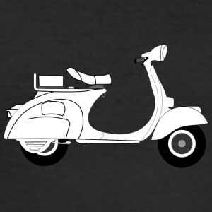Vespa moped - Men's Slim Fit T-Shirt