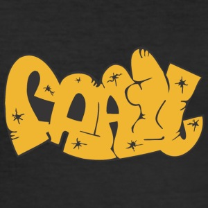 faa graffiti - Men's Slim Fit T-Shirt