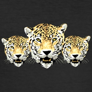 Wild leopard - Men's Slim Fit T-Shirt