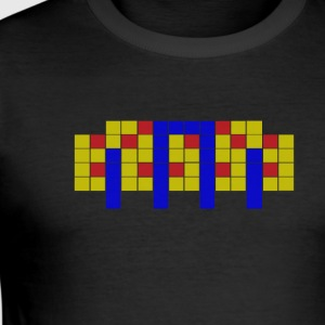 Apartment Tetris 2 - Herre Slim Fit T-Shirt