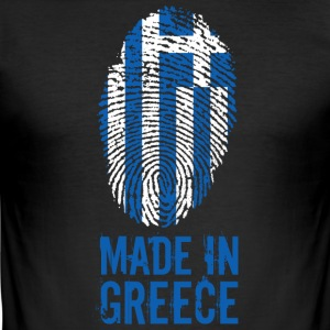 Made in Grekland / Made in Grekland - Slim Fit T-shirt herr
