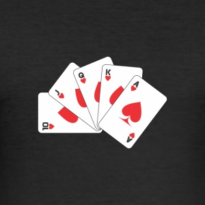 playing card - Men's Slim Fit T-Shirt