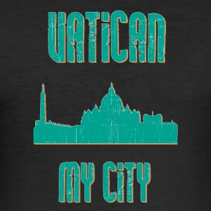 VATICAN MY CITY - Men's Slim Fit T-Shirt