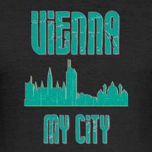Wien MY CITY - Slim Fit T-shirt herr