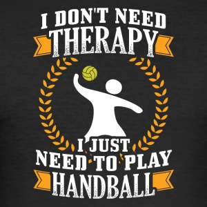 Handbal I dont behoefte THERAPIE - slim fit T-shirt