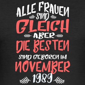 November 1989 - Männer Slim Fit T-Shirt