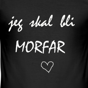 Morfar Collection - Slim Fit T-skjorte for menn