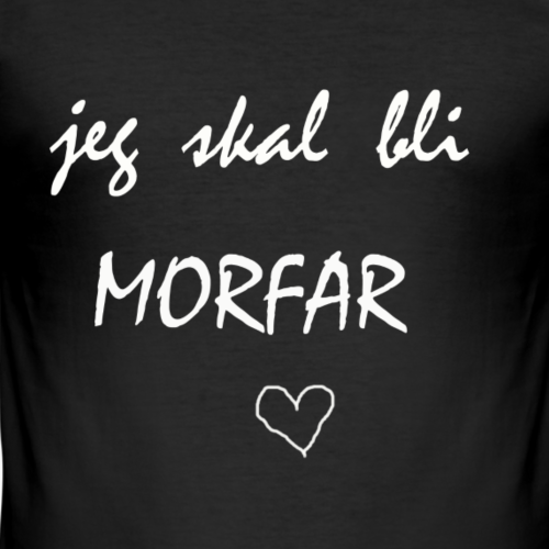 Morfar Collection - Slim Fit T-skjorte for menn