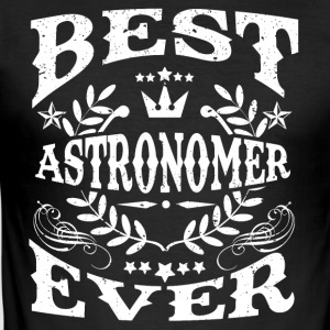 BEST astronoom DENS IS! - slim fit T-shirt