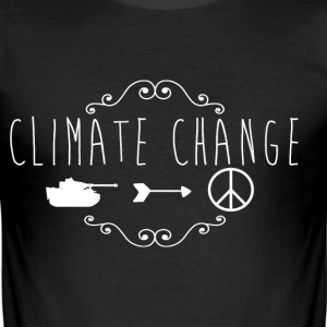climate Change 2017 - Men's Slim Fit T-Shirt