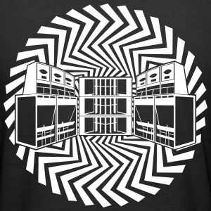 free tekno soundsystem 23 - Männer Slim Fit T-Shirt