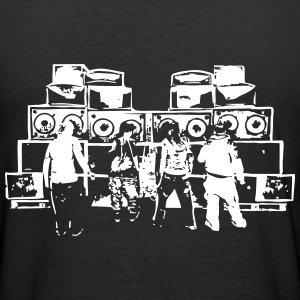 Soundsystem 23 - Männer Slim Fit T-Shirt