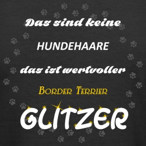 Border Terrier Glitzer - Männer Slim Fit T-Shirt