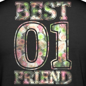 Best Friend - Männer Slim Fit T-Shirt