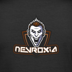 Nevroxia - Männer Slim Fit T-Shirt