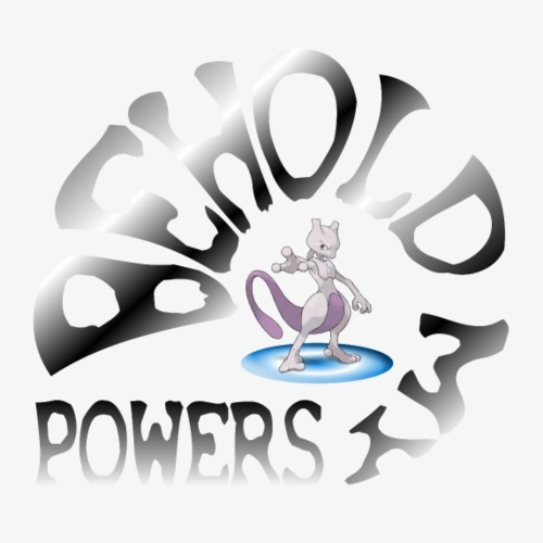 Behold my Powers! - Men's Slim Fit T-Shirt