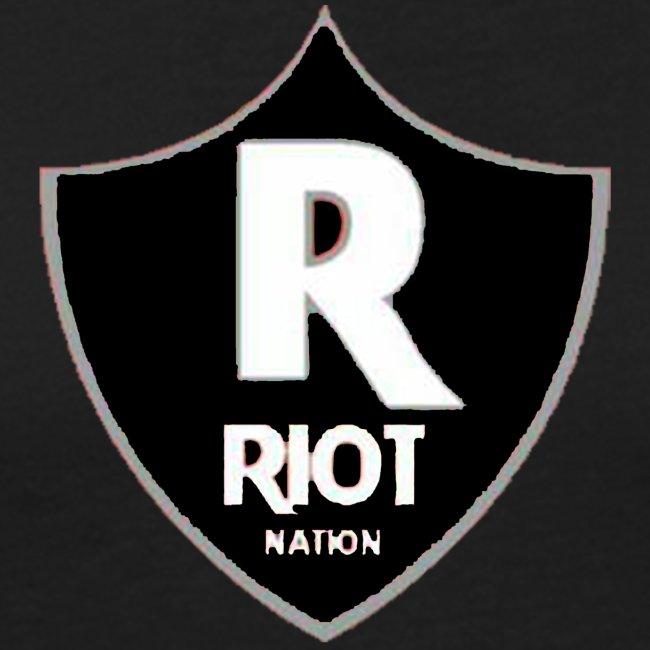 riot Nation logo schwarz