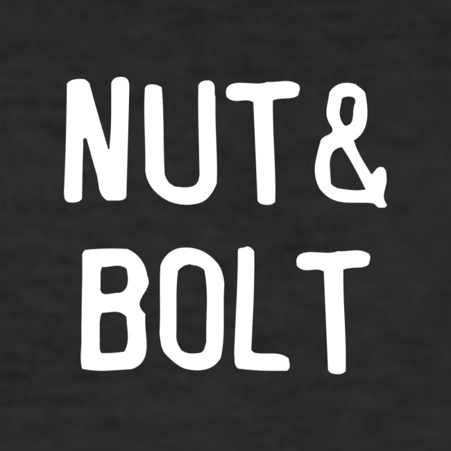 Brand Logo White by Nut & Bolt Apparel