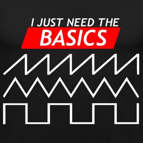 Ik heb alleen de basis nodig - Mannen slim fit T-shirt
