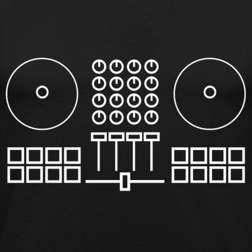 DJ Controller - Mannen slim fit T-shirt