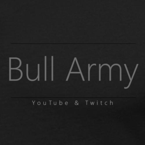 Bull Army Top Design png - Men's Slim Fit T-Shirt