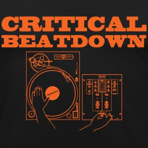 Critical Beatdown shirt - Men's Slim Fit T-Shirt