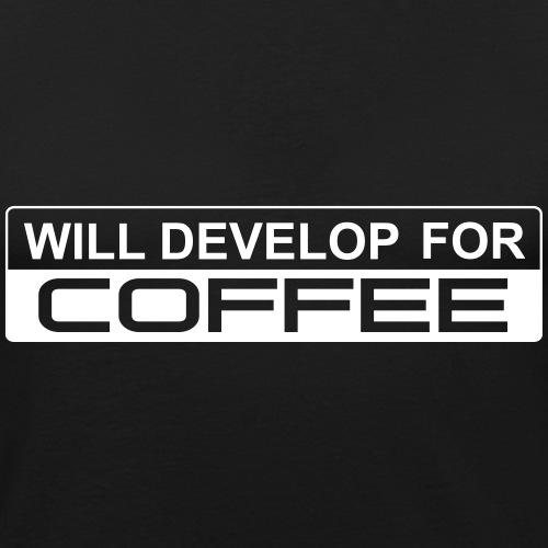 develop4coffee - Männer Slim Fit T-Shirt