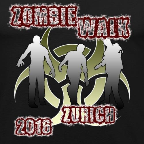 shirt zombie walk - Männer Slim Fit T-Shirt