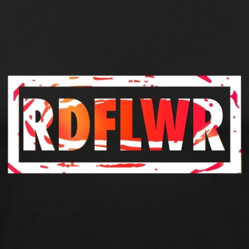 redFlower rdflwer logofx png - Männer Slim Fit T-Shirt